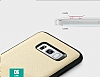 Totu Design Samsung Galaxy S8 Kartlıklı Pembe Rubber Kılıf - Resim 5