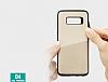 Totu Design Samsung Galaxy S8 Kartlıklı Gold Rubber Kılıf - Resim 6