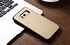 Totu Design Samsung Galaxy S8 İnce Yan Kapaklı Rose Gold Deri Kılıf - Resim 7