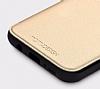 Totu Design Samsung Galaxy S8 İnce Yan Kapaklı Rose Gold Deri Kılıf - Resim 3