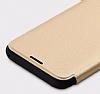 Totu Design Samsung Galaxy S8 İnce Yan Kapaklı Rose Gold Deri Kılıf - Resim 2