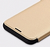 Totu Design Samsung Galaxy S8 Plus İnce Yan Kapaklı Rose Gold Deri Kılıf - Resim 5