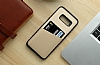 Totu Design Samsung Galaxy S8 Plus Kartlıklı Siyah Rubber Kılıf - Resim 3