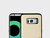 Totu Design Samsung Galaxy S8 Plus Kartlıklı Gold Rubber Kılıf - Resim 4