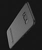 Totu Design Samsung Galaxy S8 Standlı Karbon Siyah Rubber Kılıf - Resim 4