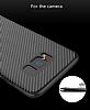 Totu Design Samsung Galaxy S8 Standlı Karbon Siyah Rubber Kılıf - Resim 3