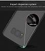 Totu Design Samsung Galaxy S8 Standlı Karbon Siyah Rubber Kılıf - Resim 2