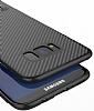 Totu Design Samsung Galaxy S8 Standlı Karbon Siyah Rubber Kılıf - Resim 8