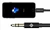Totu Design Lightning 3.5mm Gold Aux Kablo 1m - Resim 7