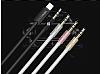 Totu Design Lightning 3.5mm Siyah Aux Kablo 1m - Resim 12