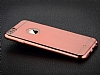 TotuDesign Frosted iPhone 6 / 6S Ultra İnce Metalik Rose Gold Silikon Kılıf - Resim: 1