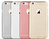 TotuDesign Frosted iPhone 6 Plus / 6S Plus Ultra İnce Metalik Rose Gold Silikon Kılıf - Resim: 7