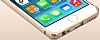 Totu Design iPhone 6 / 6S Mellow Series Gold Çizgili Bumper Çerçeve Gold Kılıf - Resim 1