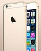 Totu Design iPhone 6 / 6S Mellow Series Gold Çizgili Bumper Çerçeve Gold Kılıf - Resim 5