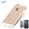Totu Design Knight iPhone 6 Plus / 6S Plus Metal Siyah Kılıf - Resim 8