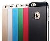 Totu Design Knight iPhone 6 Plus / 6S Plus Metal Siyah Kılıf - Resim 7