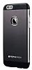 Totu Design Knight iPhone 6 Plus / 6S Plus Metal Siyah Kılıf - Resim 1
