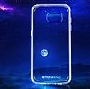 Totu Design Samsung Galaxy S7 edge Silikon Kenarlı Şeffaf Rubber Kılıf - Resim 4