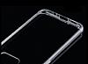 Totu Design Samsung Galaxy S7 edge Silikon Kenarlı Şeffaf Rubber Kılıf - Resim 3