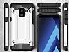 Tough Power Samsung Galaxy A6 2018 Ultra Koruma Silver Kılıf - Resim 2