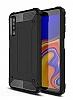 Tough Power Samsung Galaxy A7 2018 Ultra Koruma Siyah Kılıf
