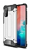 Tough Power Samsung Galaxy S20 Süper Koruma Silver Kılıf