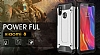 Tough Power Xiaomi Mi 8 Ultra Koruma Siyah Kılıf - Resim 3