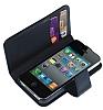 Trexta Rotating Folio iPhone 4 / iPhone 4S Siyah C�zdan K�l�f