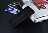 Eiroo Turkcell T50 Cüzdanlı Yan Kapaklı Siyah Deri Kılıf - Resim 4