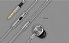 UiiSii Universal Mikrofonlu Gold Kulakiçi Metal Kulaklık - Resim 4