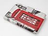 Universal 7 inch London Standlı Cüzdanlı Deri Kılıf - Resim 1