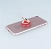 Universal Kalpli Kırmızı Yüzük Telefon Tutucu - Resim 2