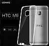 Usams Primary HTC One M9 �effaf Silikon K�l�f - Resim: 1