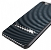 Verus Carbon Stick iPhone 6 / 6S Standlı Copper Gold Rubber Kılıf - Resim: 1
