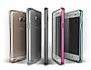 Verus Crystal Bumper Samsung Galaxy Note 5 Light Silver Kılıf - Resim 3
