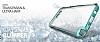 Verus Crystal Bumper Samsung Galaxy Note 5 Steel Silver Kılıf - Resim 2