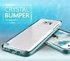 Verus Crystal Bumper Samsung Galaxy Note 5 Steel Silver Kılıf - Resim 1