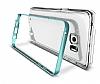 Verus Crystal Bumper Samsung Galaxy Note 5 Steel Silver Kılıf - Resim 5