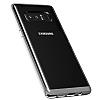 VRS Design Crystal Bumper Samsung Galaxy Note 8 Light Silver Kılıf - Resim 1