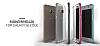 Verus Crystal Bumper Samsung Galaxy S6 Edge Plus Hot Pink Kılıf - Resim 6