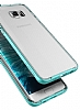 Verus Crystal Bumper Samsung Galaxy S6 Edge Plus Light Silver Kılıf - Resim 1