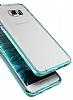Verus Crystal Bumper Samsung Galaxy S6 Edge Plus Steel Silver Kılıf - Resim 1