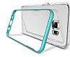 Verus Crystal Bumper Samsung Galaxy S6 Edge Plus Steel Silver Kılıf - Resim 3