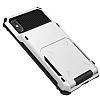 VRS Design Damda Folder iPhone X Beyaz Kılıf - Resim 1