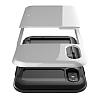 VRS Design Damda Glide iPhone X Silver Kılıf - Resim 3
