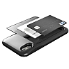 VRS Design Damda Glide iPhone X Metal Black Kılıf - Resim 1