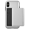 VRS Design Damda Glide iPhone X Silver Kılıf - Resim 2