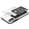 VRS Design Damda Glide iPhone X Silver Kılıf - Resim 1