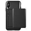 VRS Design Damda Glide iPhone X Metal Black Kılıf - Resim 2