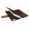 Verus Dandy Layered Leather iPhone SE / 5 / 5S Kahverengi K�l�f - Resim: 3